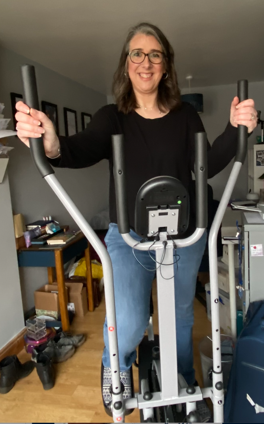 Kate's cross trainer